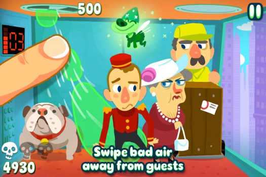Fart-Management iPhone Game