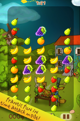 Fruit Frenzy iphone game